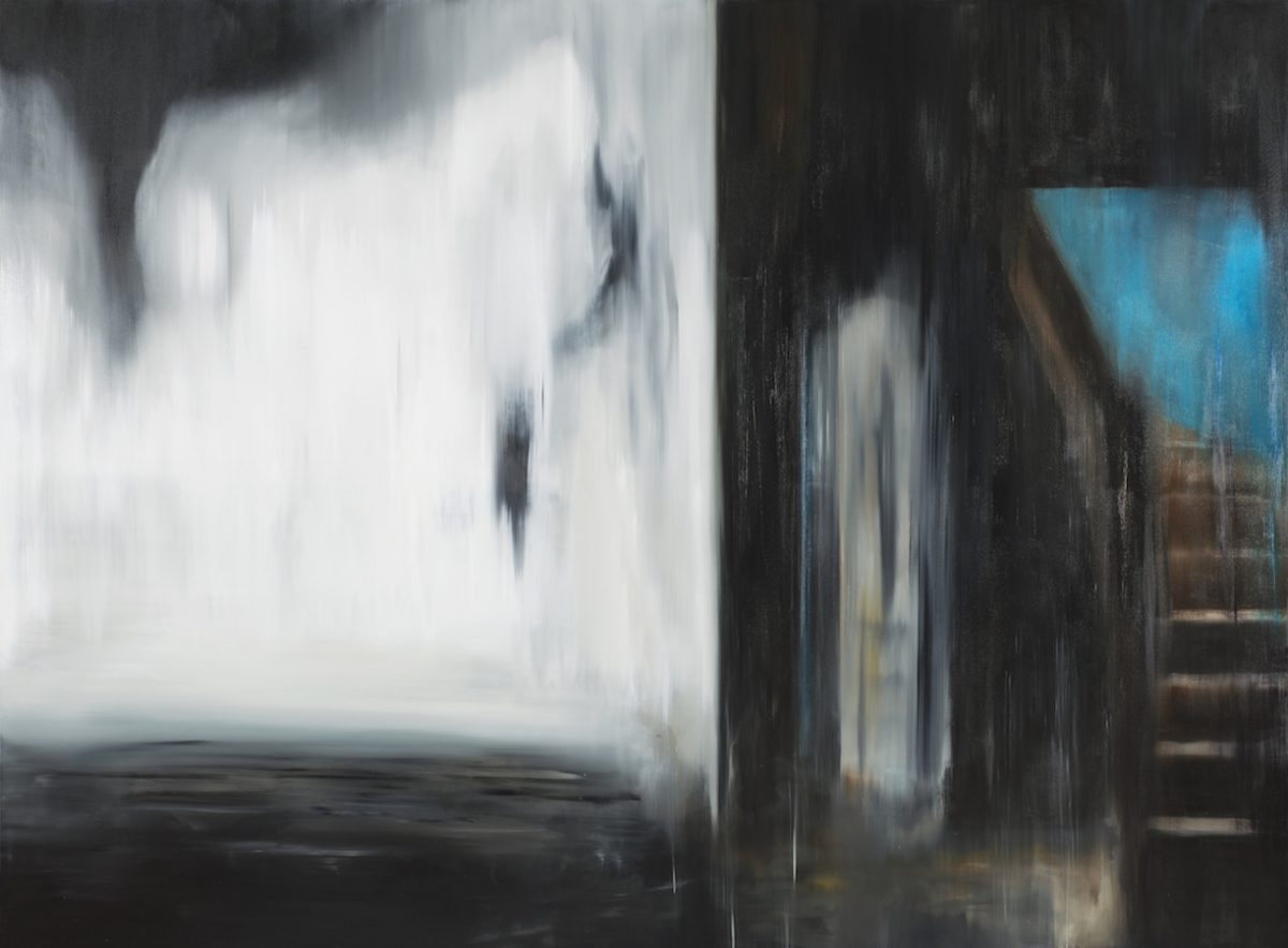 figur im raum-Figur im Raum Nr. 4-Öl auf Leinwand - 200 x 270 cm - 2018