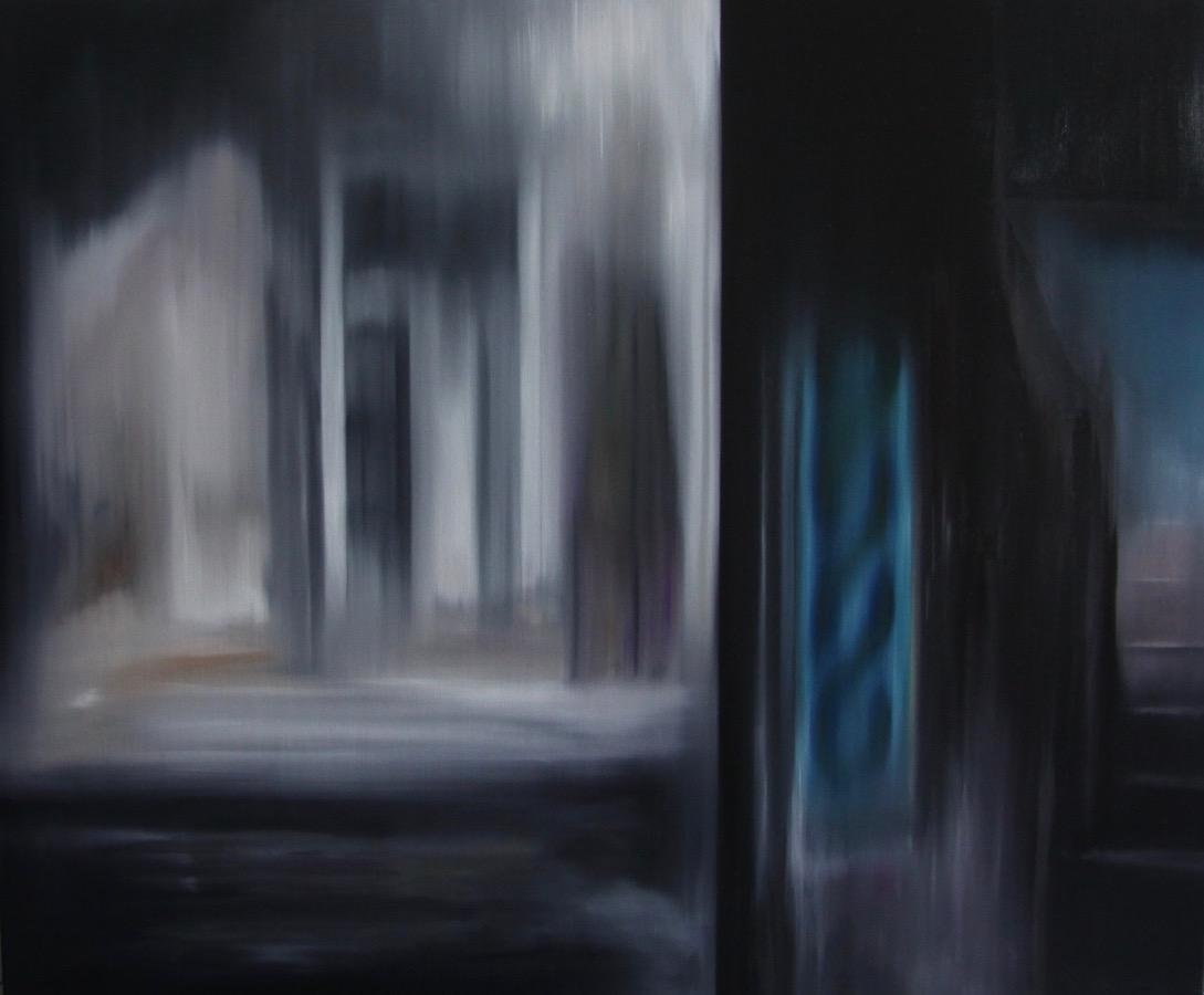 figur im raum-Figur im Raum Nr. 6-Öl auf Leinwand - 190 x 230 cm - 2018