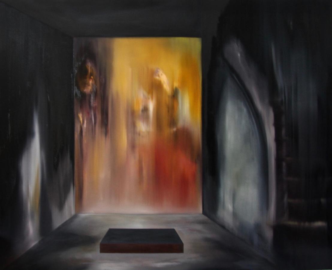 figur im raum-Figur im Raum Nr. 7-Öl auf Leinwand - 200 x 250 cm - 2018