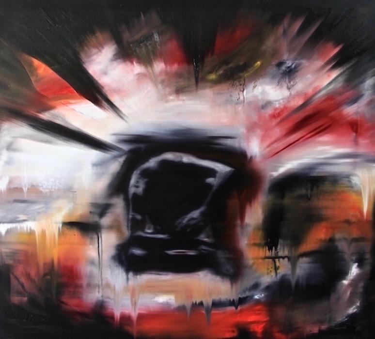 regime del tempo-Regime del Tempo Nr. 1-Öl auf Leinwand - 190 x 210 cm - 2015