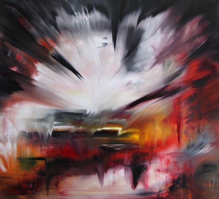 regime del tempo-Regime del tempo Nr. 7-Öl auf Leinwand - 190 x 210 cm - 2015