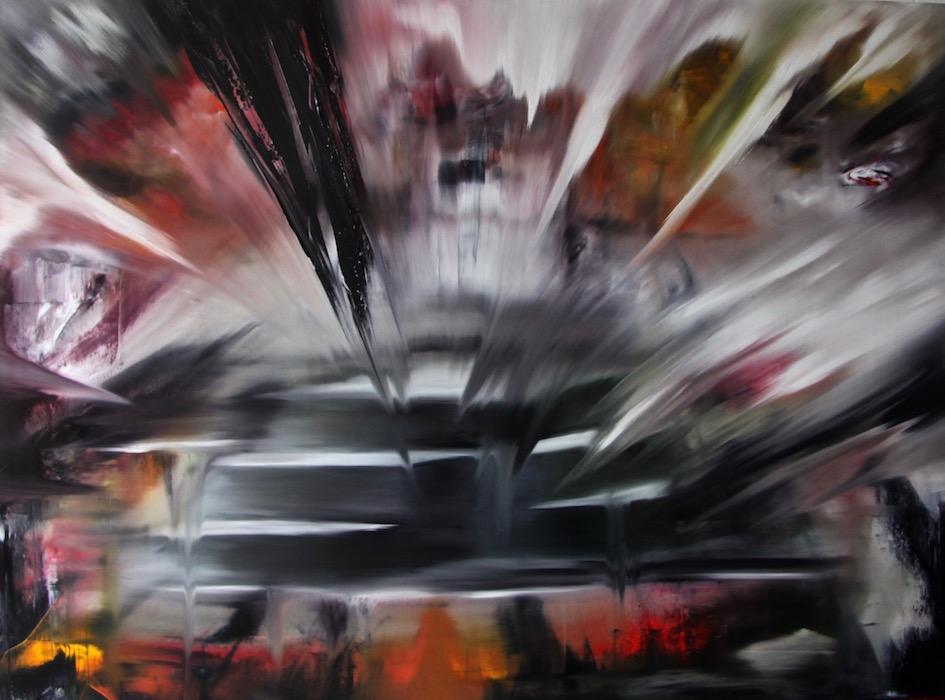 regime del tempo-Regime del tempo Nr. 13-Öl auf Leinwand - 200 x 270 cm - 2016