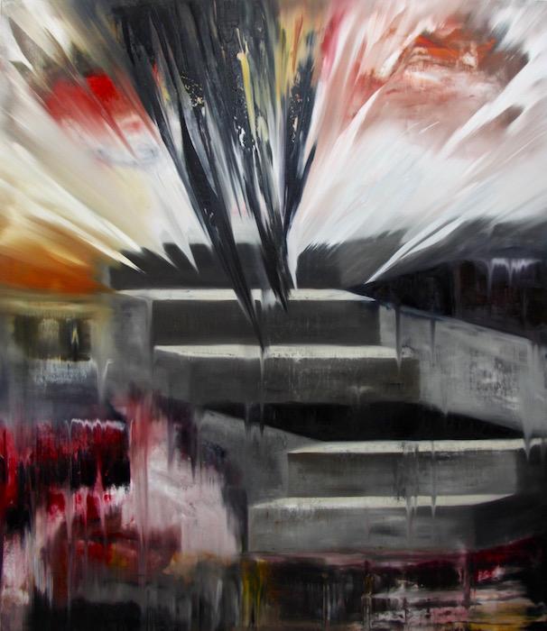 regime del tempo-Regime del tempo Nr. 15-Öl auf Leinwand - 230 x 200 cm - 2016