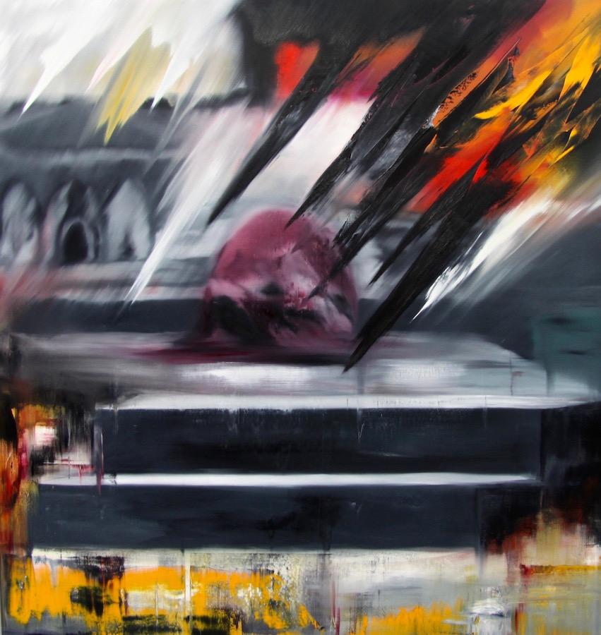 regime del tempo-Regime del tempo Nr. 18-Öl auf Leinwand - 200 x 190 cm - 2016