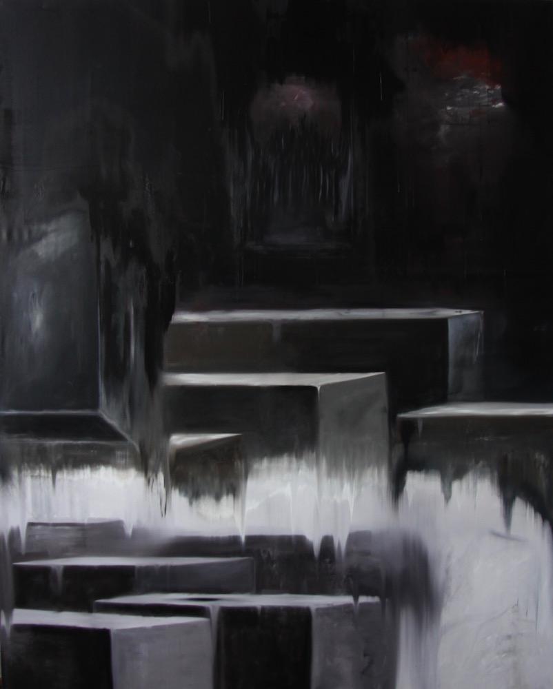 Regime del Tempo 2030-Regime del Tempo 2030 Nr. 2-Oil on Canvas - 250 x 200 cm - 2017