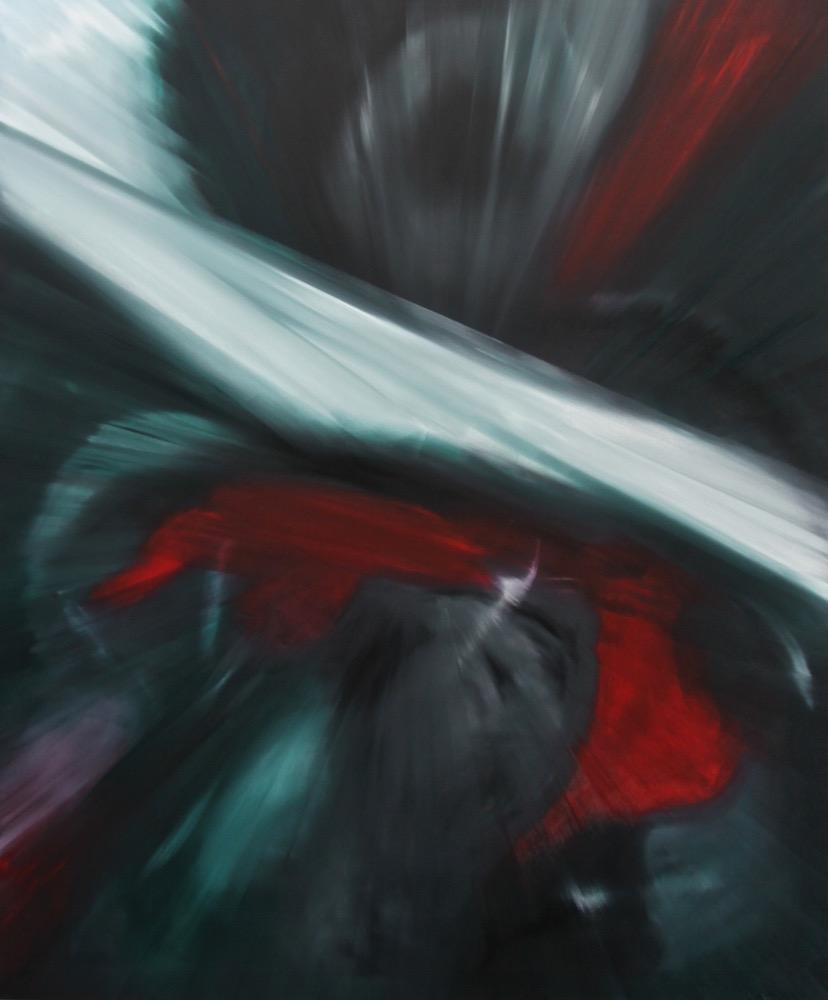 Espansione-Espansione Nr. 16-Oil on Canvas - 220 x 180 cm - 2014