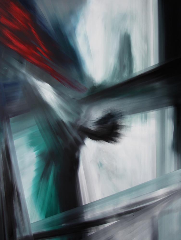 Espansione-Espansione Nr. 19-Oil on Canvas - 210 x 160 cm - 2014