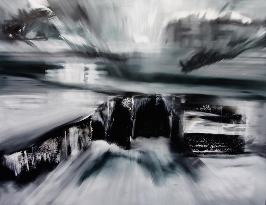 Espansione 2025-Espansione 2025 Nr. 2-Oil on Canvas - 200 x 260 cm - 2014