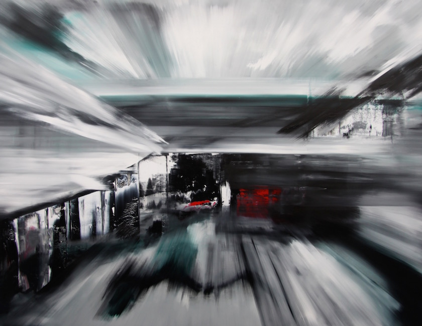 Espansione 2025-Espansione 2025 Nr. 3-Oil on Canvas - 200 x 260 cm - 2014