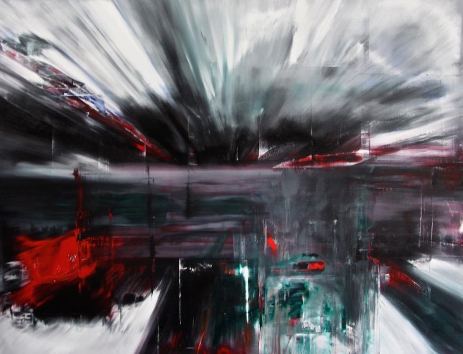 Espansione 2025-Espansione 2025 Nr. 7-Oil on Canvas - 200 x 260 cm - 2014
