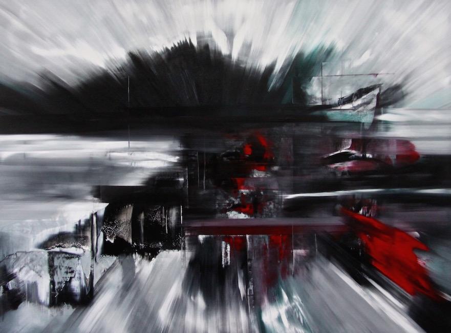 Espansione 2025-Espansione 2025 Nr. 8-Oil on Canvas - 200 x 270 cm - 2014