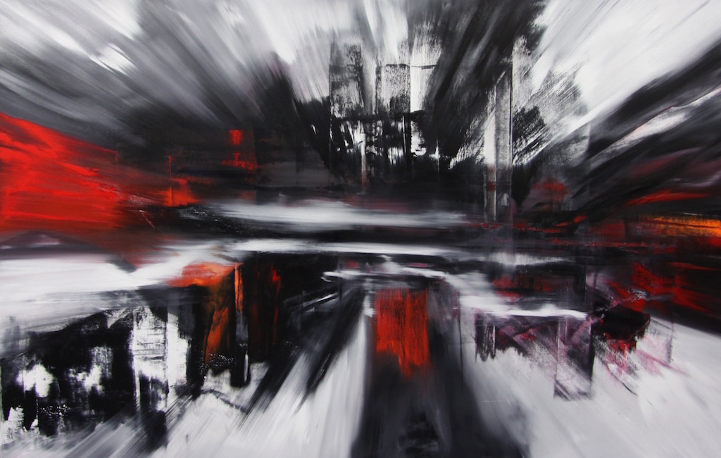 Espansione 2025-Espansione 2025 Nr. 11-Oil on Canvas - 160 x 250 cm - 2014