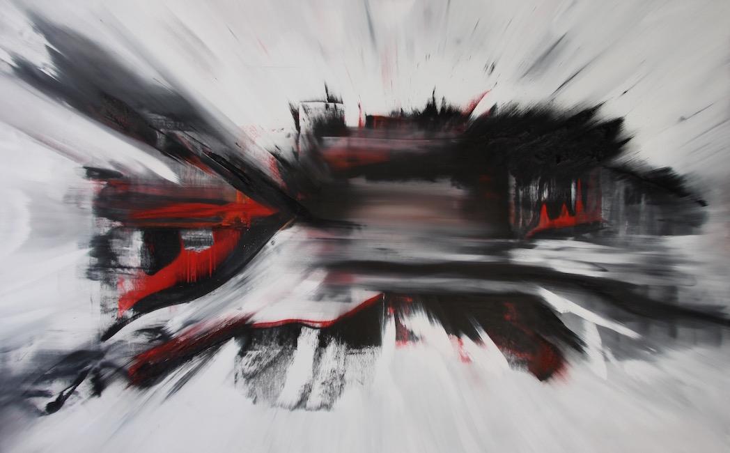 Espansione 2025-Espansione 2025 Nr. 17-Oil on Canvas - 140 x 220 cm - 2015