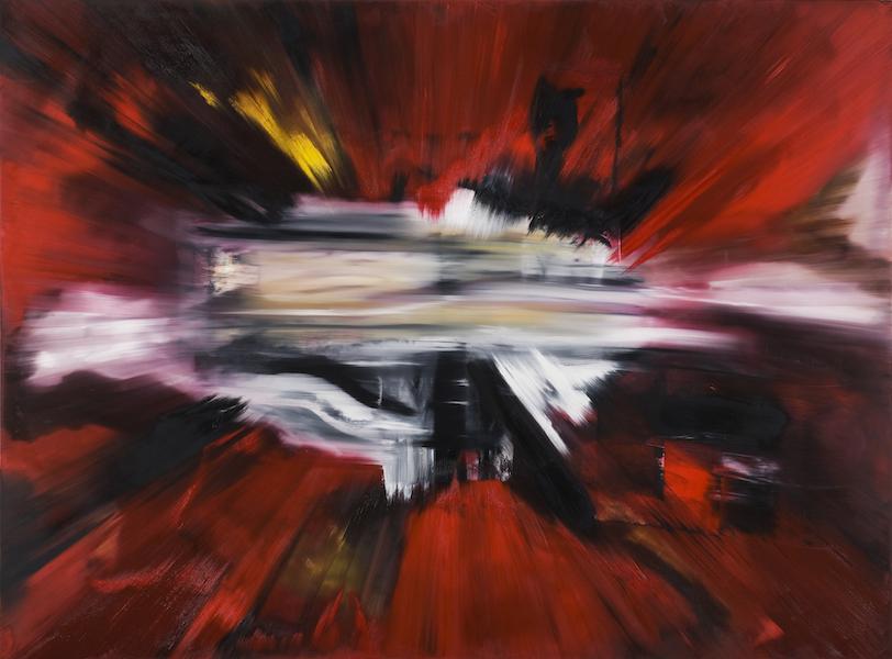 Impatto-Impatto Nr. 2-Oil on Canvas - 200 x 270 cm - 2015