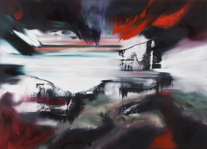 impatto 2026-Impatto 2026 Nr. 2-Öl auf Leinwand - 180 x 250 cm - 2015
