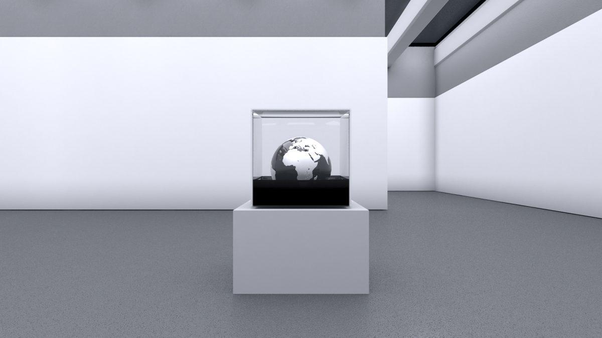 Regime del Tempo 2-Regime del tempo 2-Regime del tempo 2 Nr. 1 - Aluminum - Bitumen - Plexibox - 2018