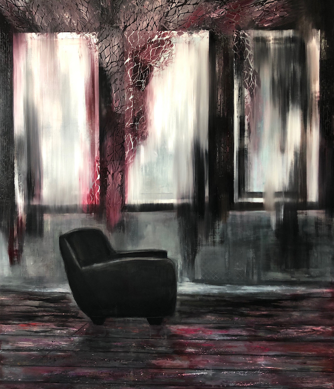 Atelier-Atelier Nr. 4-Oil on Canvas - 230 x 200 cm - 2018