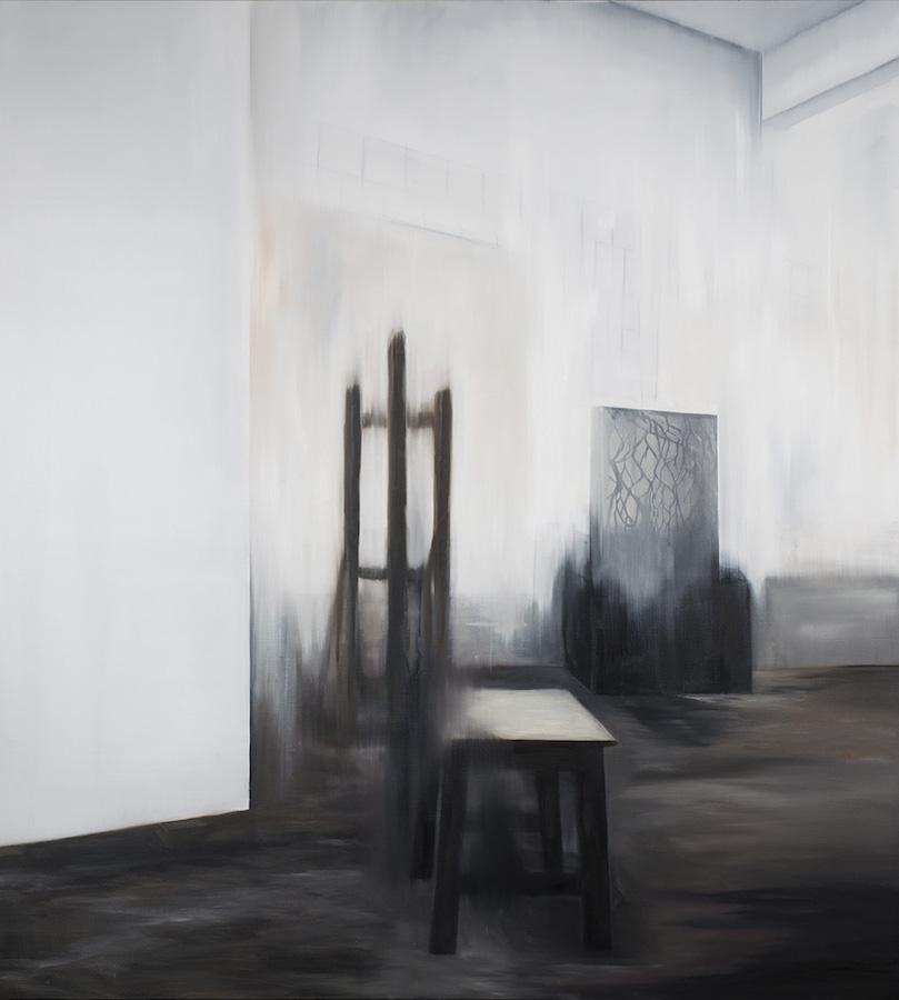 Atelier-atelier Nr. 1-Öl auf Leinwand - 230 x 200 cm - 2018