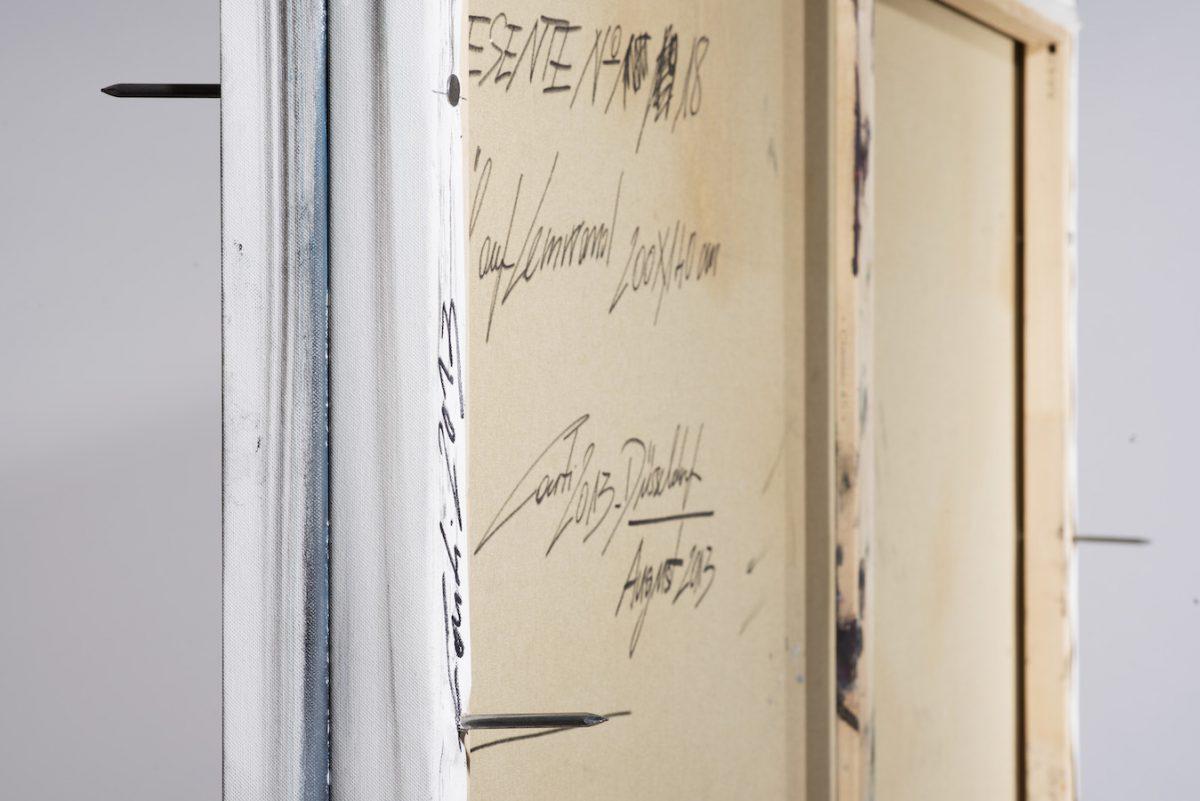 Verschließung-Verschliessung Nr. 2-Öl auf Leinwand - 200 x 150 cm - 2017