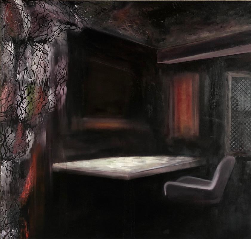 Manifest der Stille-Minifest der Stille Nr. 1-Öl auf Leinwand - 170 x 180 cm - 2019