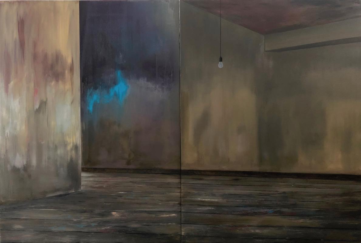 Manifest der Stille-Manifest der Stille 4-Öl auf Leinwand - 270 x 400 cm - 2019