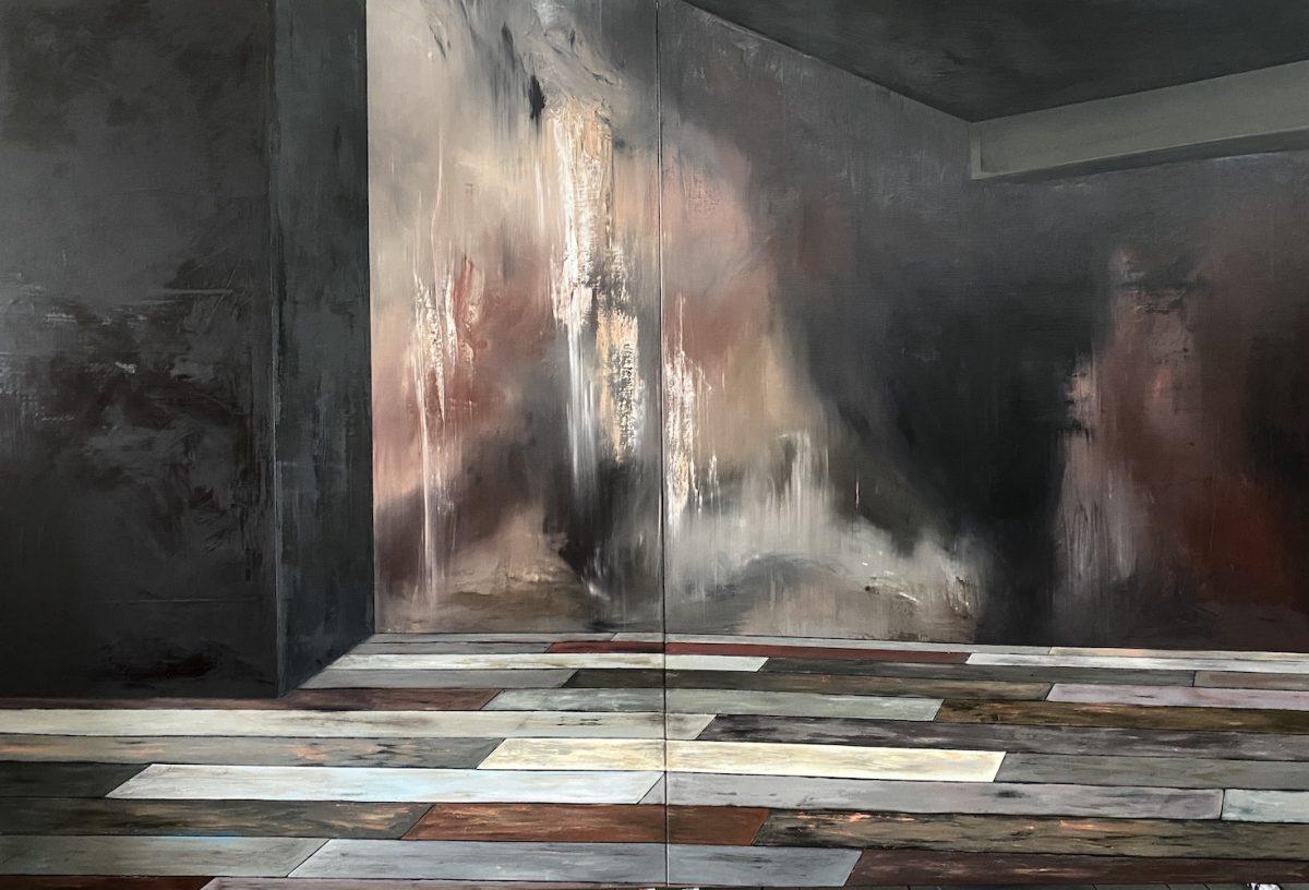 Manifest der Stille-manifest der stille nr. 4-Öl auf Leinwand - 270 x 400 cm - 2020