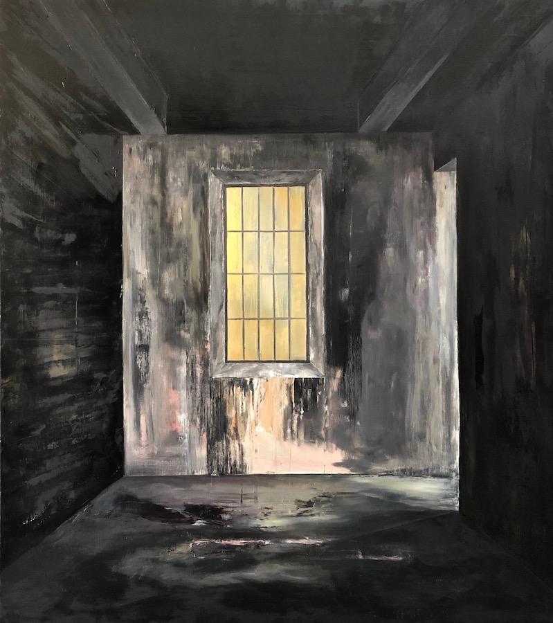 Manifest der Stille-Manifest der Stille 6-Öl auf Leinwand - 180 x 160 cm -2019