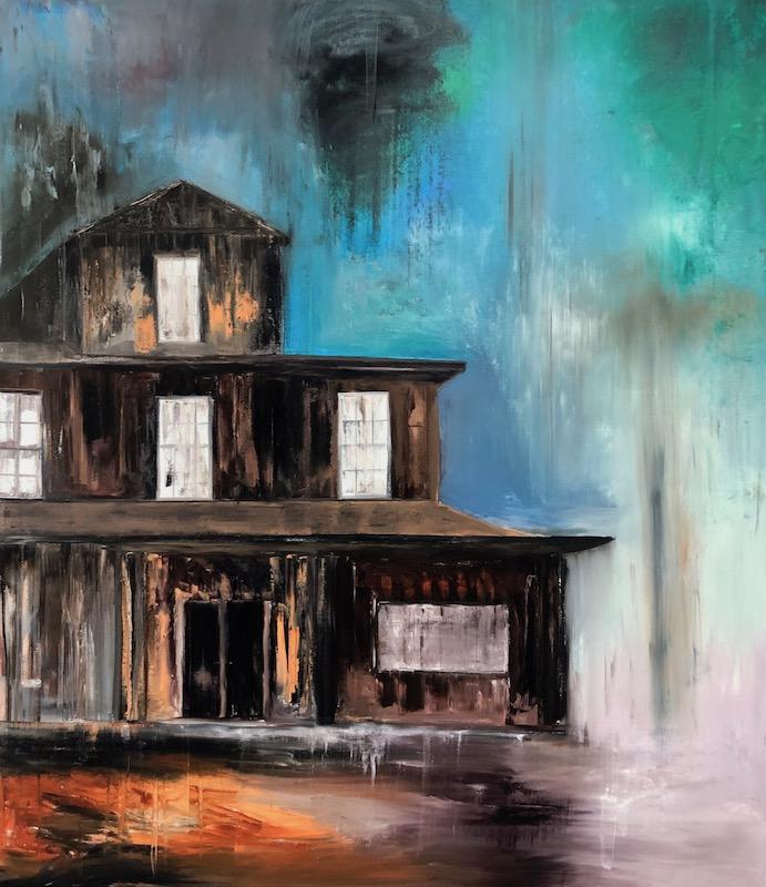 Werk ohne Titel 2019-Werk ohne Titel Nr. 2 2019-Öl auf Leinwand - 230 x 200 cm - 2019