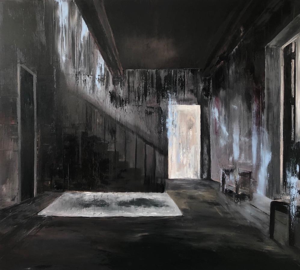 Manifest der Stille-Manifest der Stille 10-Öl auf Leinwand - 200 x 220 cm - 2019