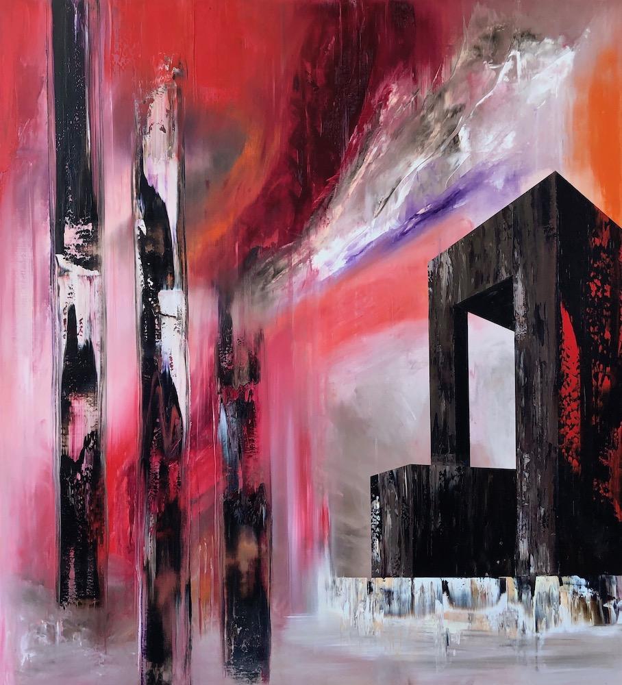 Manifest der Stille-Manifest der Stille Nr. 19-Öl auf Leinwand - 220 x 200 cm - 2019
