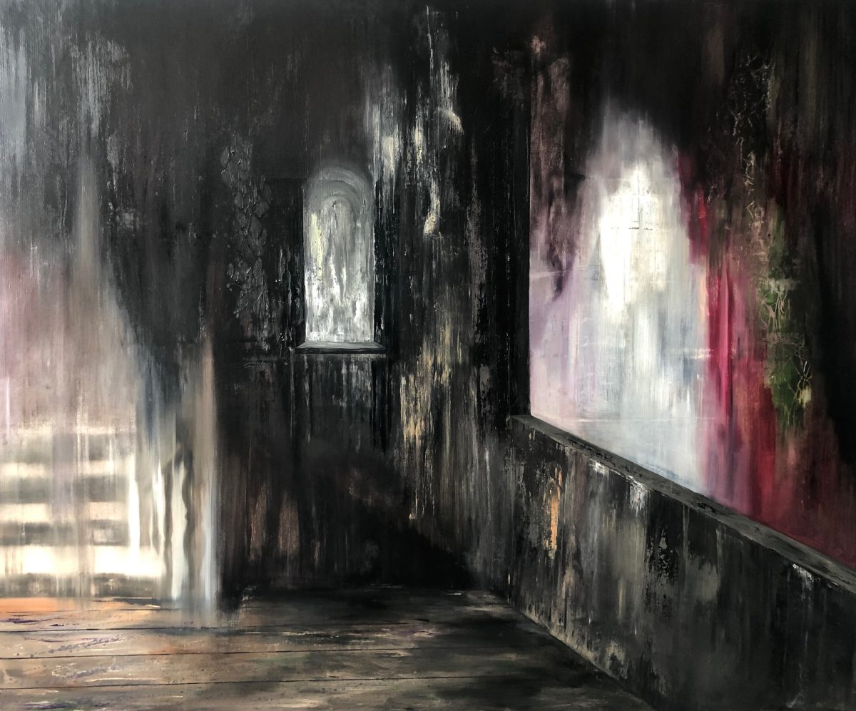 Manifest der Stille-Manifest der Stille 9-Öl auf Leinwand - 200 x 230 cm - 2019