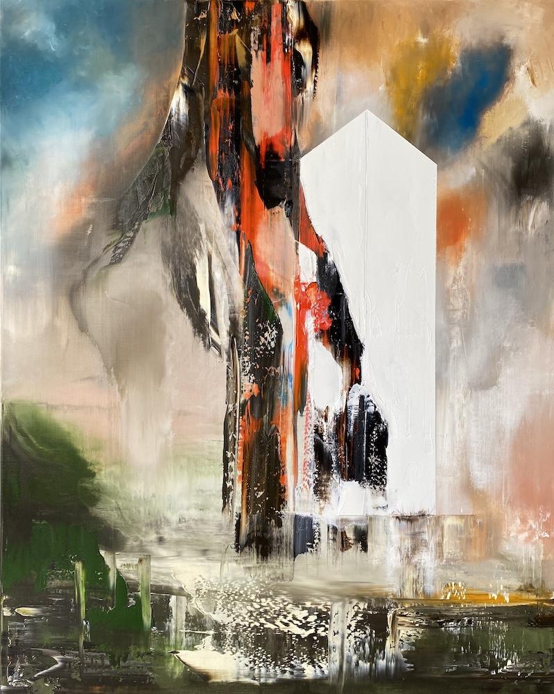 Manifesto del tempo-Manifesto del Tempo Nr. 2-Oil on Canvas - 150 x 130 cm - 2020