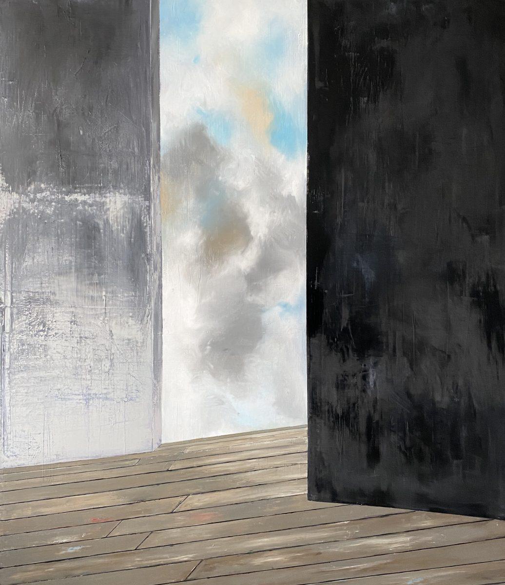 Manifesto del tempo-Manifesto del Tempo Nr. 7-Öl auf Leinwand - 230 x 200 cm - 2020