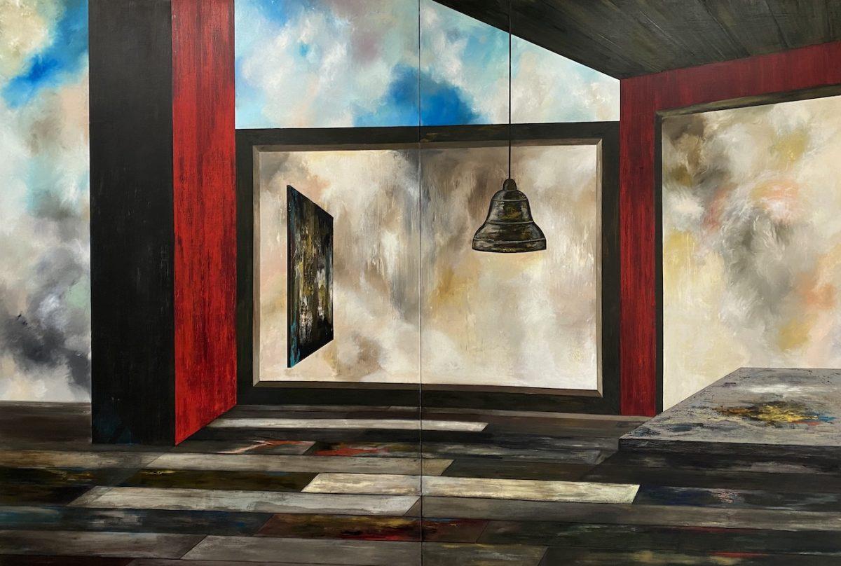 Il suono del tempo-il suono del tempo Nr. 10-Öl auf Leinwand - 270 x 400 cm - 2020