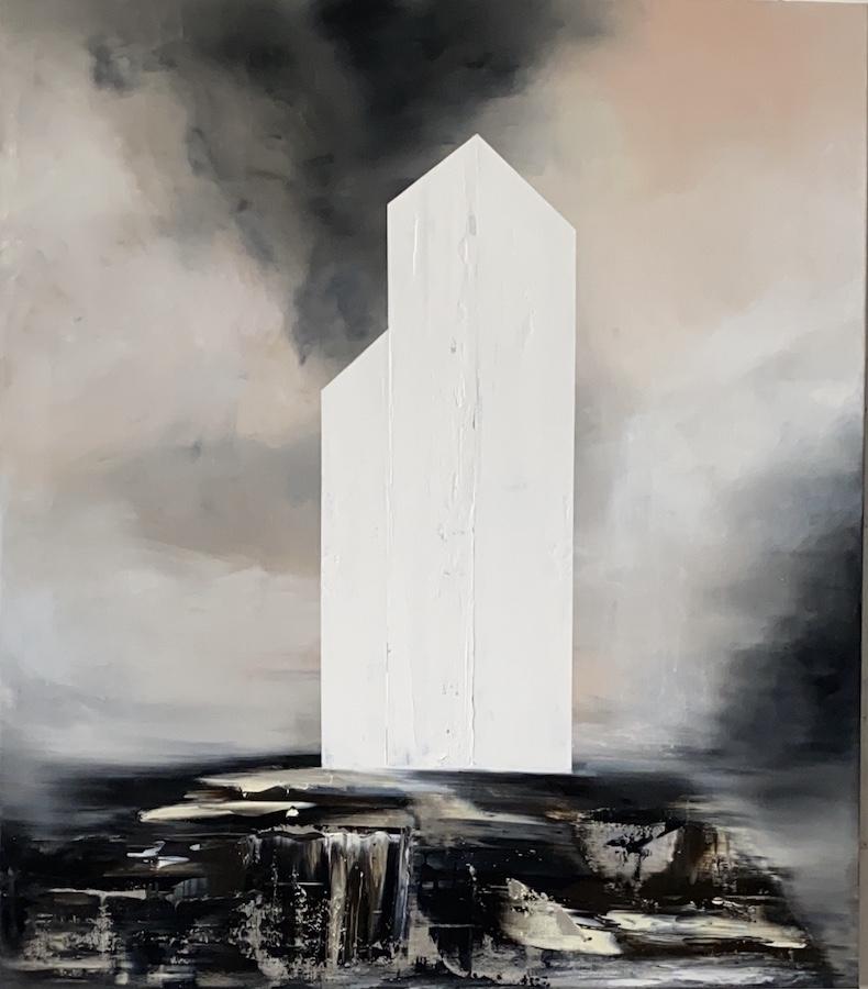 Manifesto del tempo-Manifesto del Tempo Nr. 3-Oil on canvas - 150 x 130 cm - 2020
