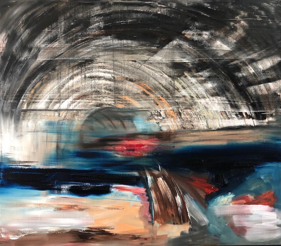 Werk ohne Titel 2019-Werk ohne Titel Nr. 1 2019-Öl auf Leinwand - 200 x 230 cm - 2019