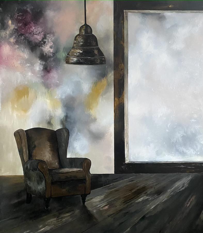 Il suono del tempo-il suono del tempo 9-Oil on canvas - 230 x 200 cm - 2021