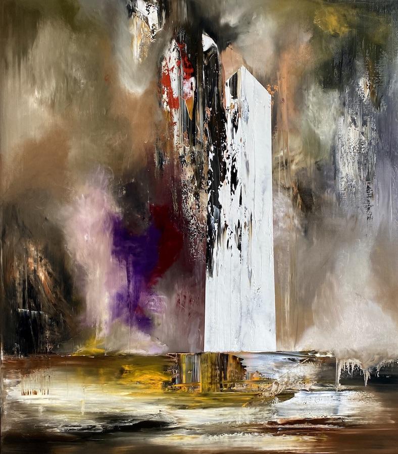 Manifesto del tempo-Manifesto del Tempo Nr. 4-Oil on canvas - 160 x 140 cm - 2020