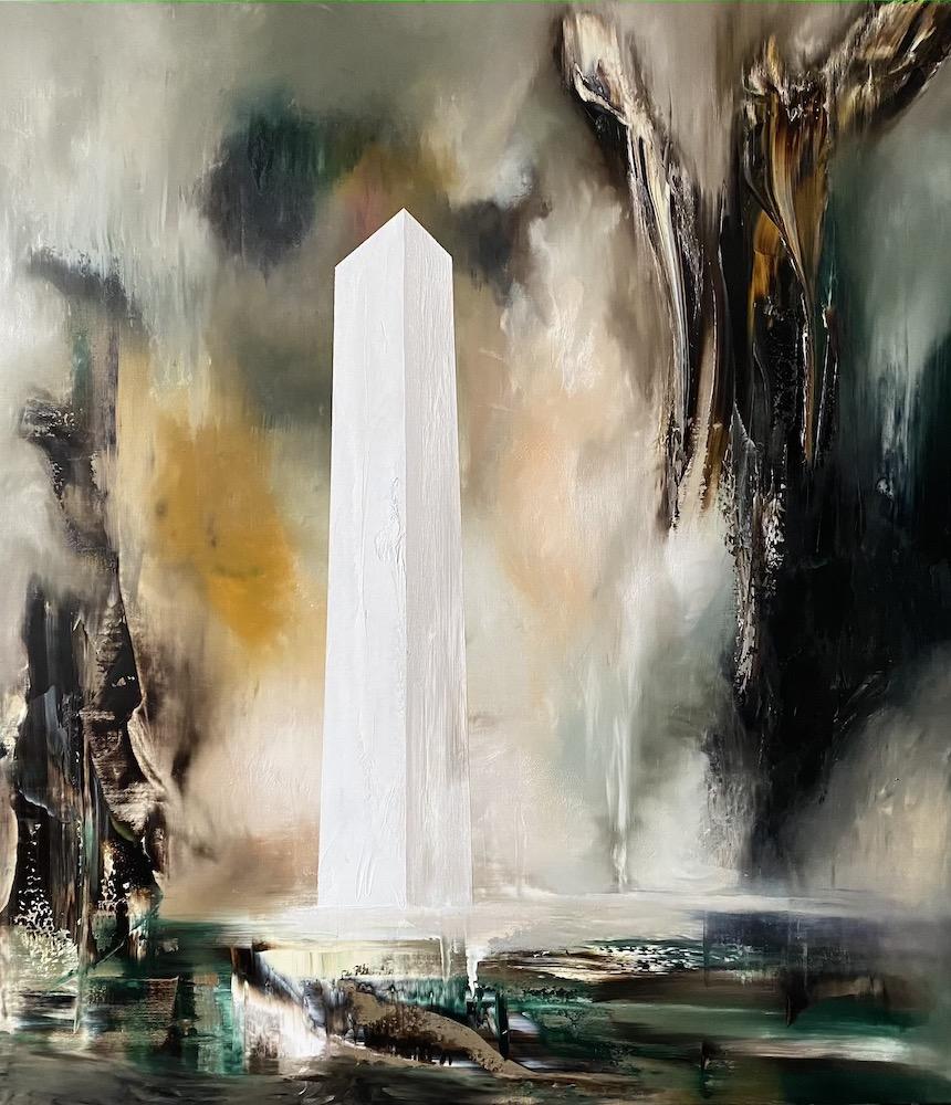 Manifesto del tempo-Manifesto del Tempo Nr. 5-Oil on canvas - 160 x 140 cm - 2020